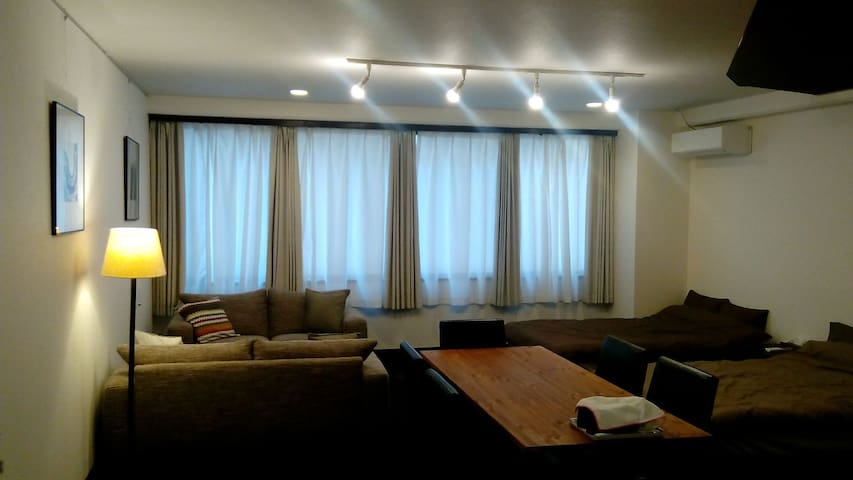 NISHITETSU KURUME /  WIDE ROOM - Kurume city  - Appartement