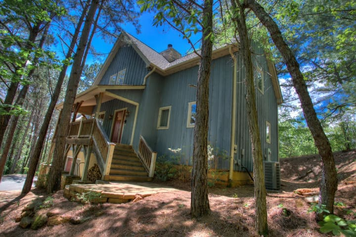 Winters Haven - a Luxurious Asheville Mountain Timber Frame Cabin W/Hot Tub - Fairview - Appartement