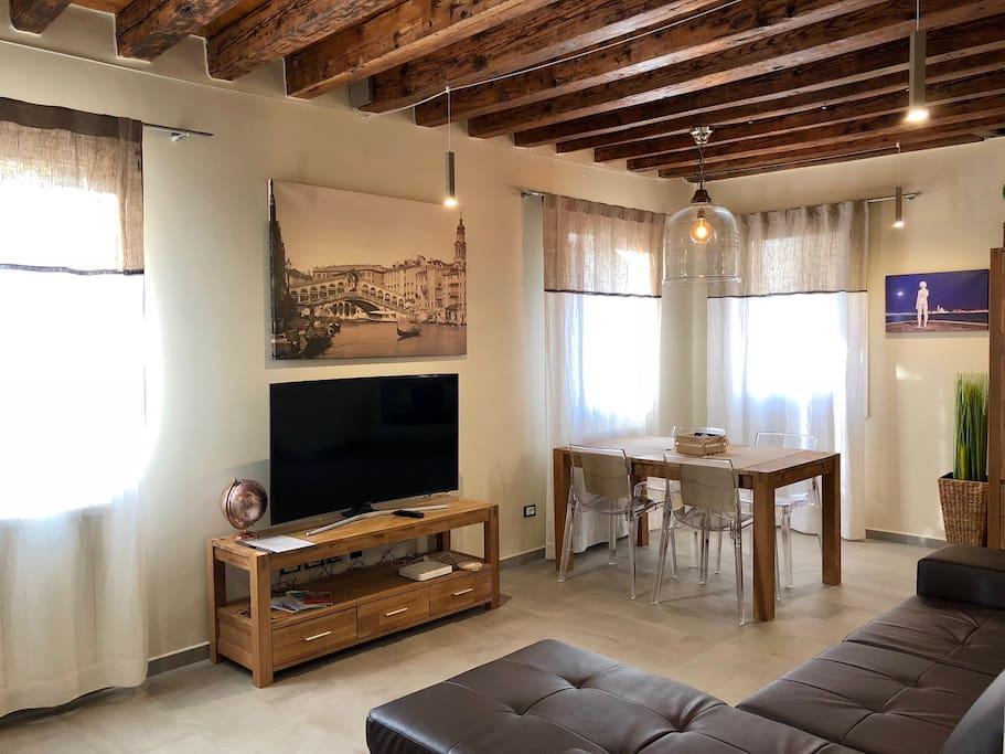 Ca 39 barba 24 appartamenti in affitto a venezia veneto for Piani casa in stile artigiano 4 camere da letto