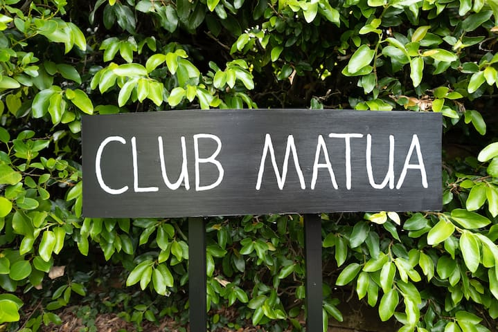 Fondly known by friends and family as 'Club Matua'