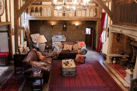 Charming barn, double en-suite room