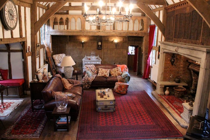Charming barn, double en-suite room