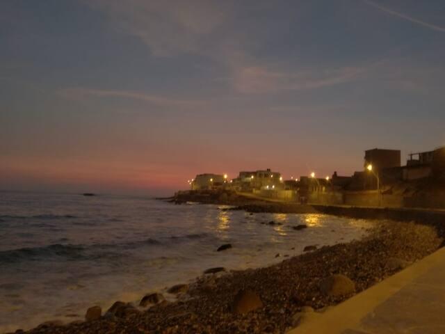Espectacular vista paronamica a 10 metros del mar