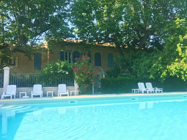 Beautiful 18th Century Apartment with Large Pool