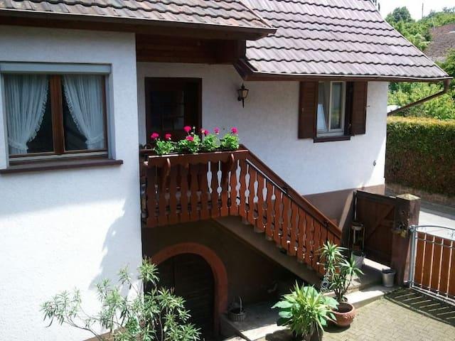 Oma´s Bauernhäusle - Herbolzheim - Casa