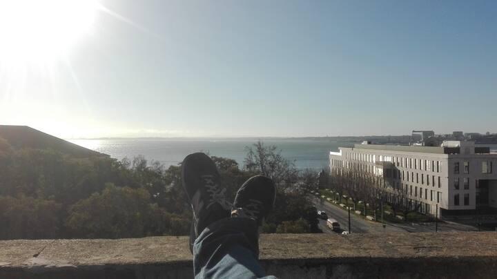 Lisbon Downtown Balcony Penthouse