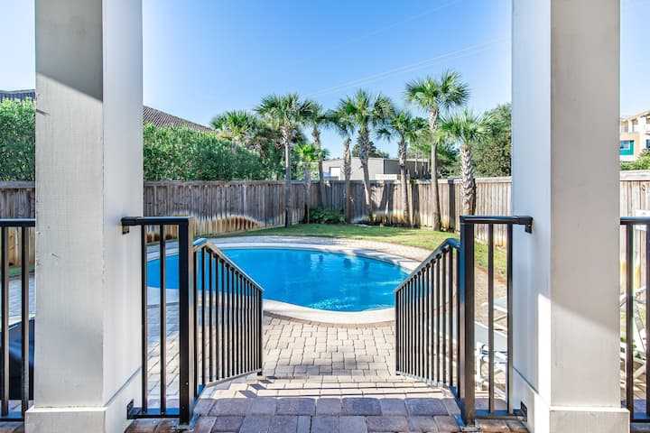 PRIV Pool! Gated Beach Access☀2 Step Sanitizing Process☀3BR Jewel of Terra Cotta