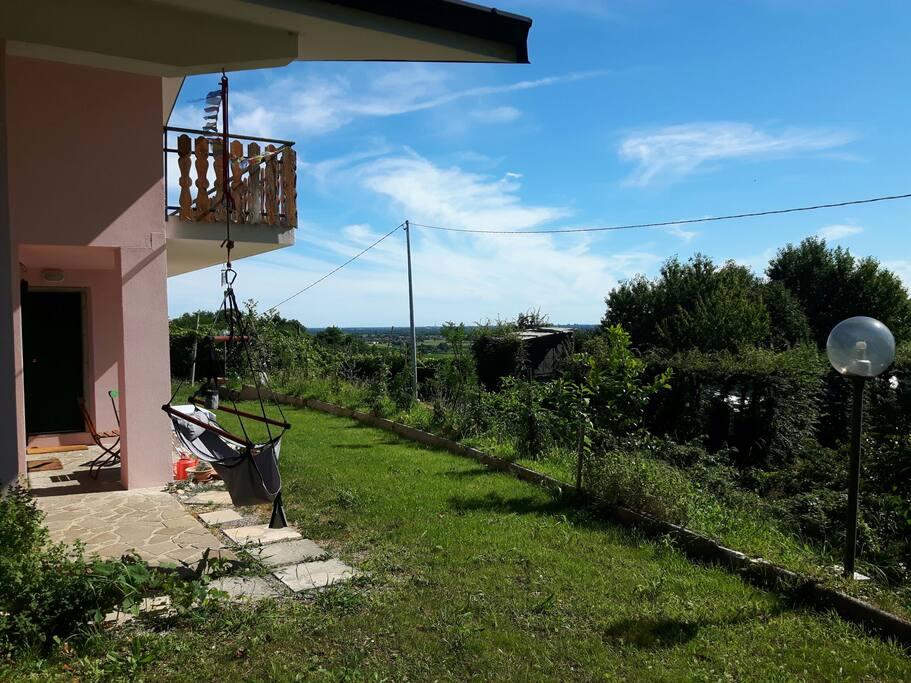 Panorama su Udine
