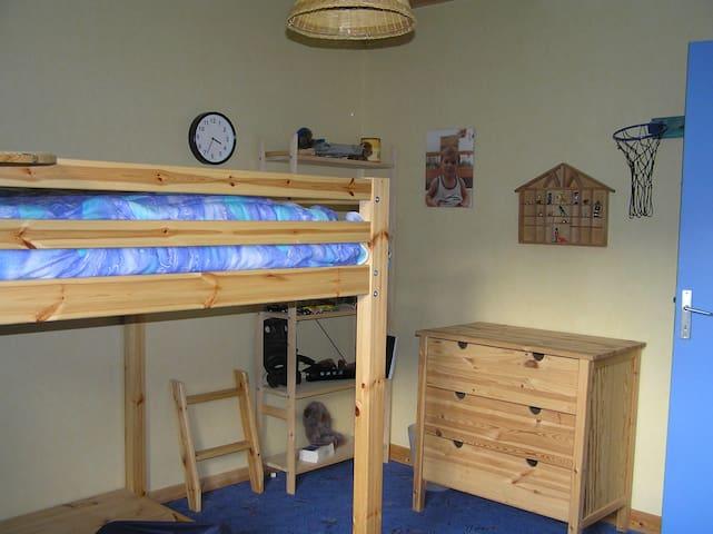 Chambre 2 possible pour  la même réservation ou chambre et équipements bébés
