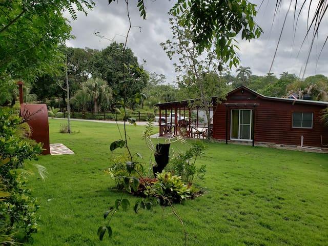 Casa campestre para amante de la naturaleza higuey