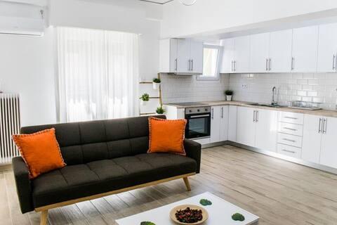 Elegant flat,2 BR, sentrum, 5' metro