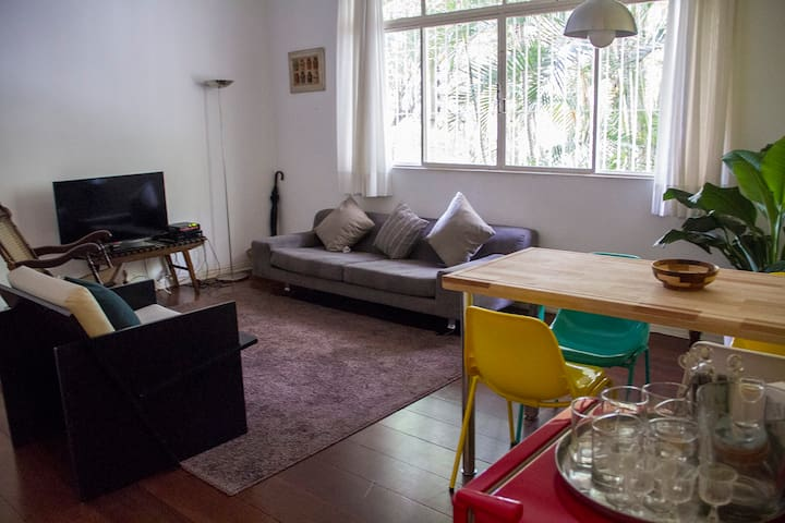 Charme e sossego no coração de SP - São Paulo - Apartamento