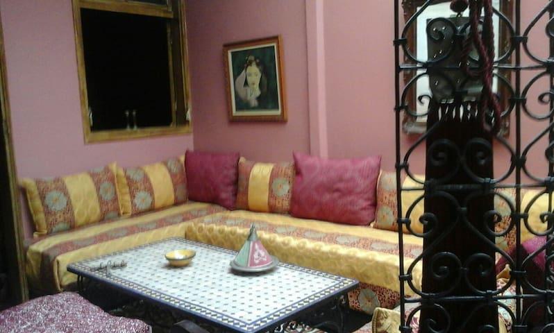une belle chambre au medina de rabat - Rabat - Appartement