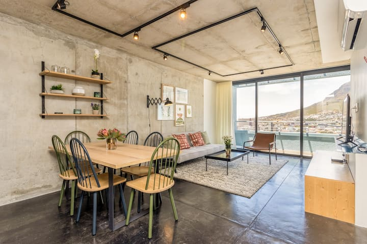 Contemporary 2-Bed Apt in Bo-Kaap, w/Pool