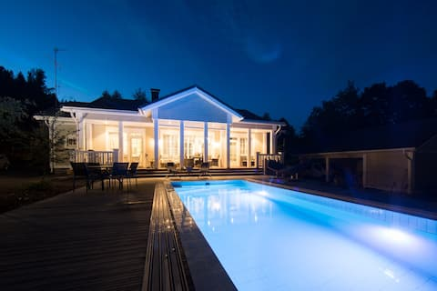Villa Fiskari & Spa - Only 45min from Helsinki