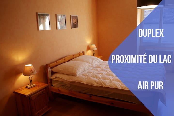 DUPLEX + PROXIMITÉ DU LAC + AIR PUR - Gérardmer - Appartement