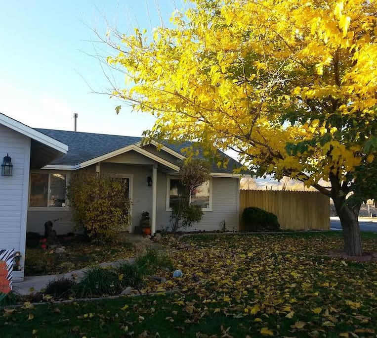 Fall is one of the most beautiful times of the year in Nevada.