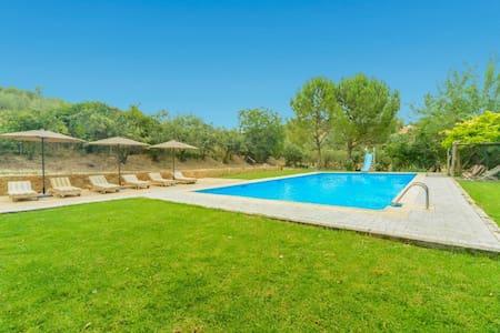 Molino de las Palomas, wifi, jacuzzi,grand piscine