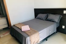 Flat completo ,ótimo condomínio,Vista Parksul