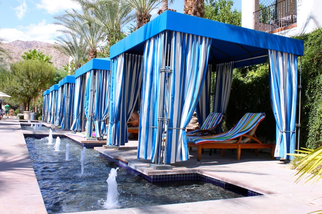 Cabanas By Pool