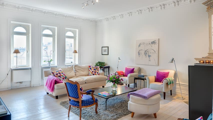 Luxury apartment in the heart of Stockholm - Estocolmo - Apto. en complejo residencial
