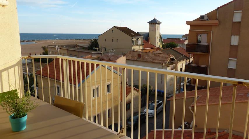 Appartement vue mer en duplex + terrasse plein sud