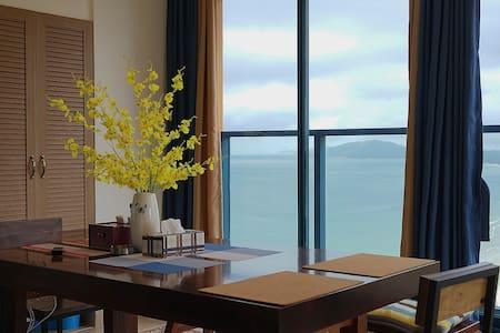 惠州 万科双月湾 空中观海 两房一厅 - Huizhou - อพาร์ทเมนท์