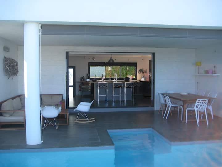Villa avec piscine St Gilles les Bains, Roquefeuil