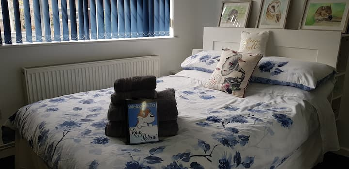 RaysRetreat,Dorset,Clean,Quiet,Calm Double Room