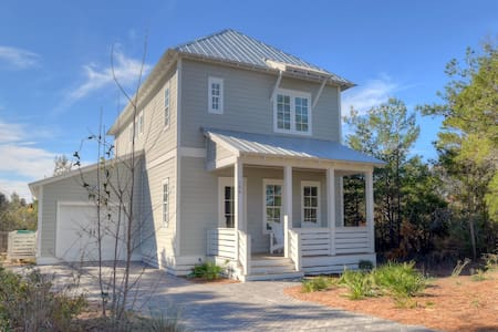 30A Beach Cottage with Private Pool & Bikes!