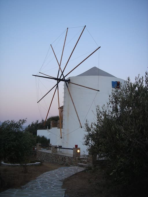 Our windmill in the dawn