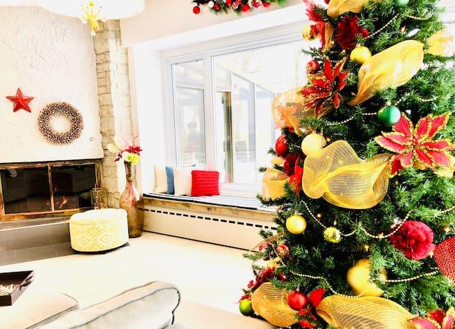 ♥ ♥ 40 guests villa w/ view  * 15 min. Old Quebec