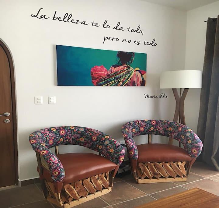 New!! Downtown Ajijic 2 bdrm  María Felix House