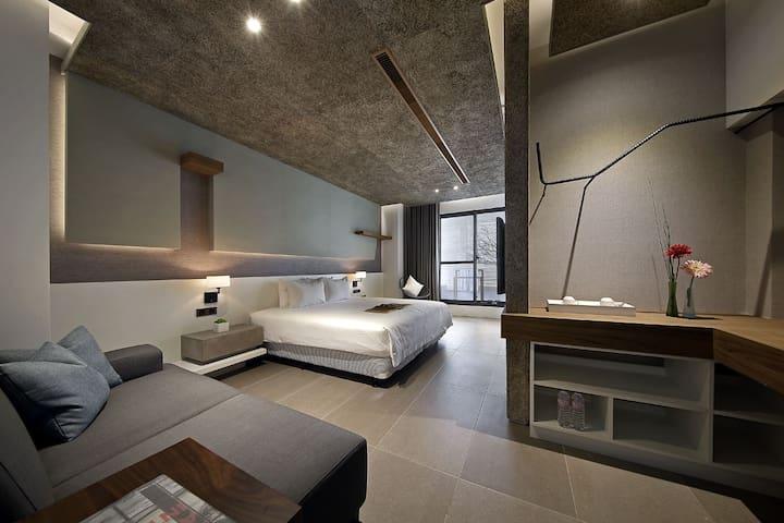 日月潭桂月村 Deluxe Double Room