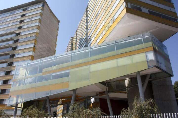 Penthouse  con 1 recámara y estudio TV - Ciudad de México - Apto. en complejo residencial