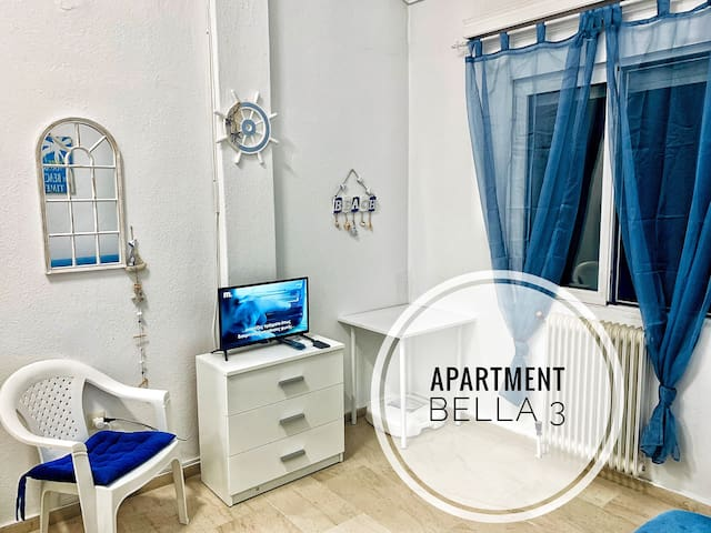 APARTMENT BELLA 3 PERAIA FREE PARKING