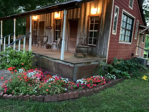 Rustic Farmhouse with Old-World Charm