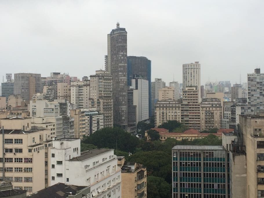 High floor day view of Sao Paulo, this brand new apartment condo is on the 19th floor. Plenty of cab drivers downstair, 100 meters to main subway stations and main tourist points of Sao Paulo OldTown. Easy access all locations, 30 minutes drive from GRU Airport and local private jets Airports as well.