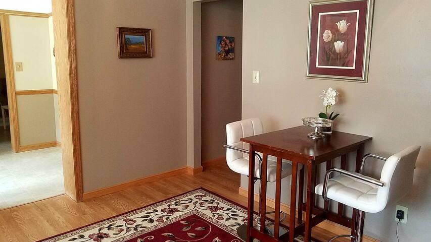 Hallway into Blue Room