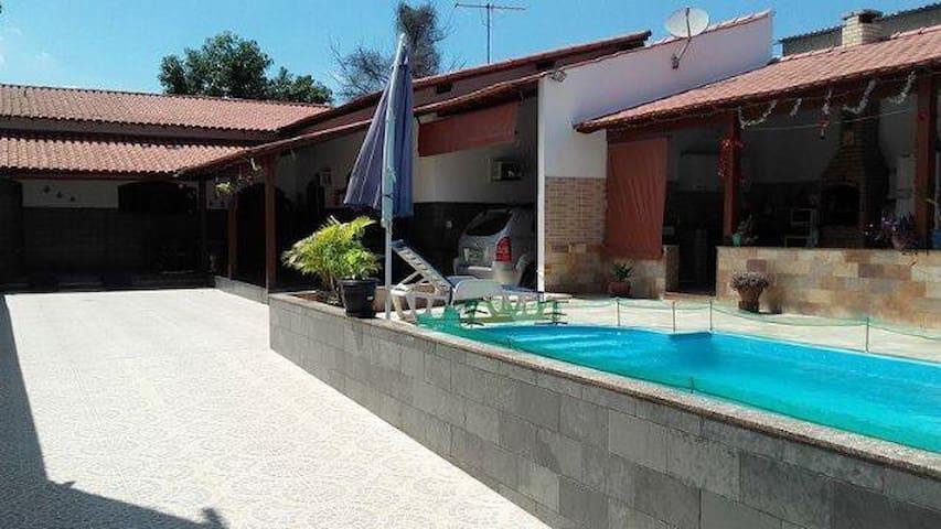 Balneário casa com piscina - São Pedro da Aldeia - Hus
