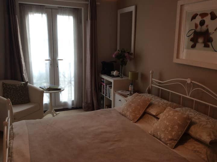 Smart room with en suite in Welwyn.