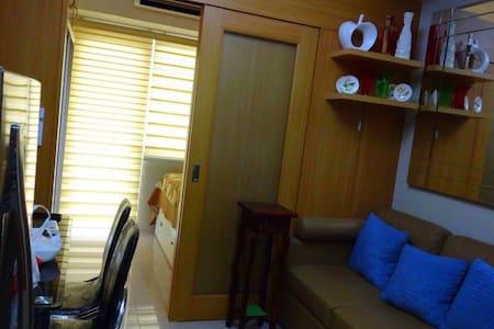 Cozy 1-bedroom with a view @SM MoA - Pasay - Osakehuoneisto