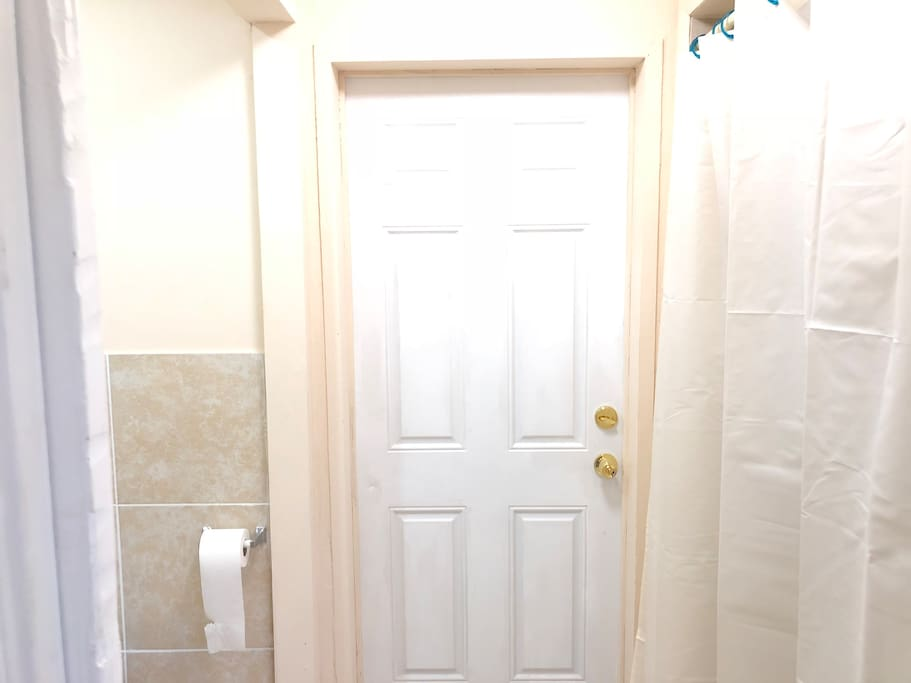 Private Entrance  from Bathroom