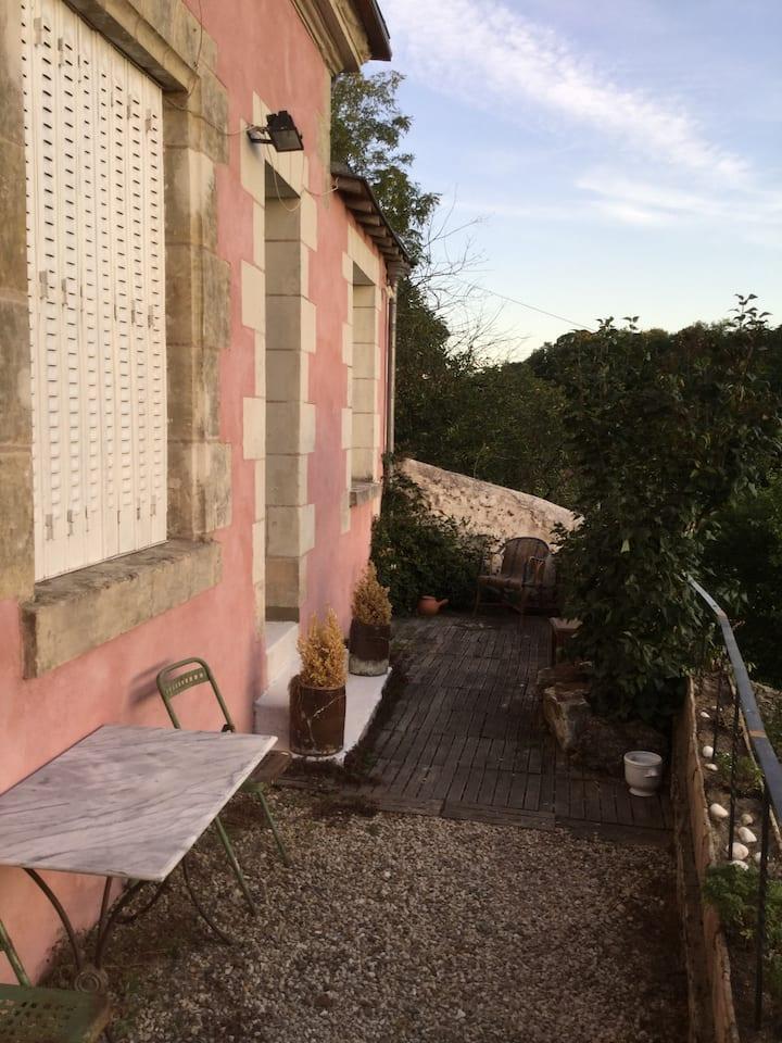 Lussault-sur-Loire, belle maison avec vue