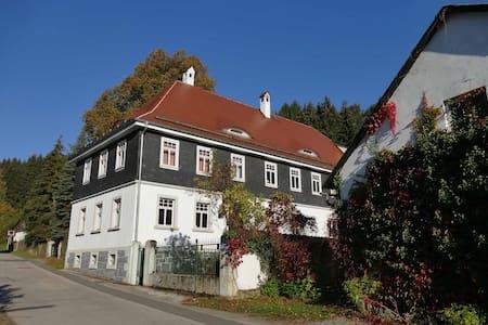 Ferienhaus Gutshof Linde für 6 Pers - Pressig - House