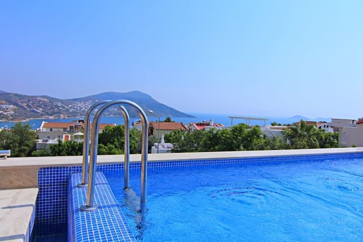 3 bedroom apartment with private swimming pool - Kalkan Belediyesi - Wohnung