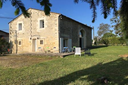 Maison de Campagne proche St Emilion