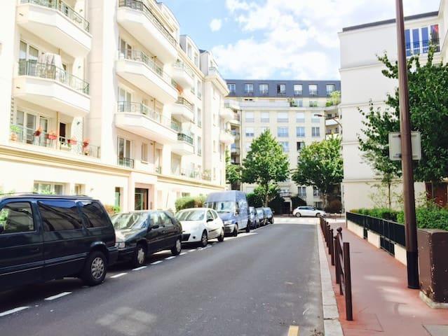 Appt 4-6 p. near Paris & Disneyland - Charenton-le-Pont - Appartement