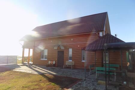 Дом у реки в пригороде Казани, рыбалка, пляж!!!