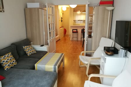 50 m2 cozy flat at 15 min from Tour Eiffel - Boulogne-Billancourt - Apartment